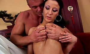 Insanely hot MILF trades her hubby for a 20 year old cock